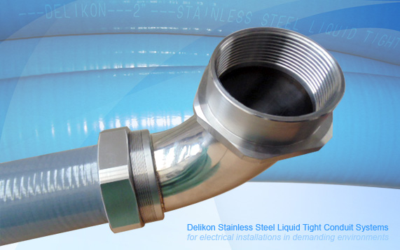 PVC Covered InterLocked Flexible Stainless Steel Liquid tight Conduit